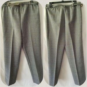 Alfred Dunner Grey Dress Pants